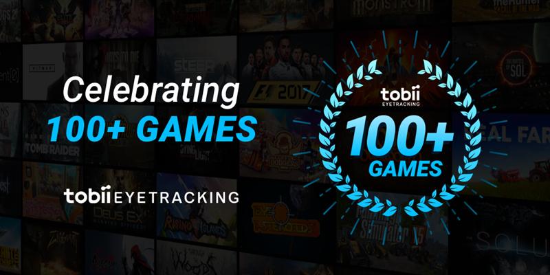 Tobiis eyetracking-funktioner i över 100 spel