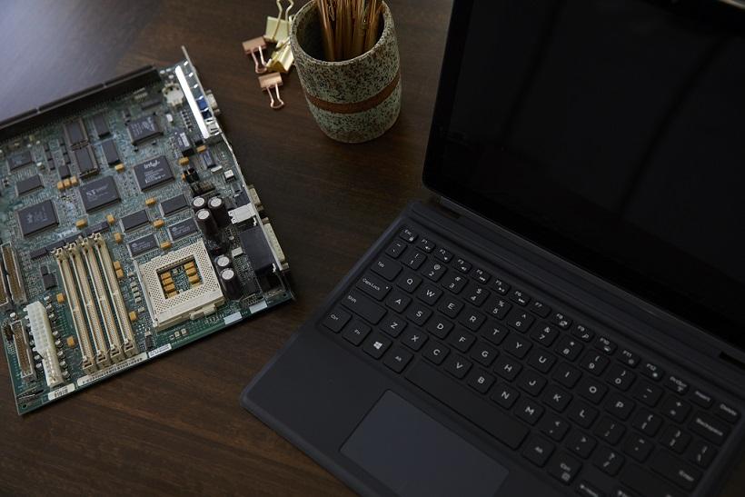 Dell återvinner guld ur elektronikavfall