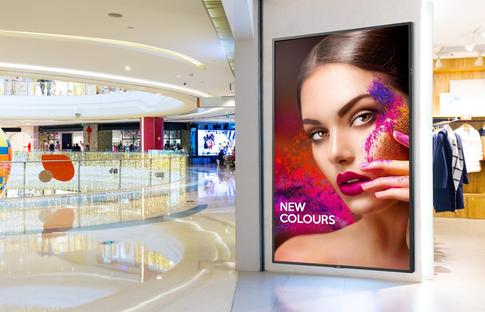 Nya lanseringar från NEC Display Solutions