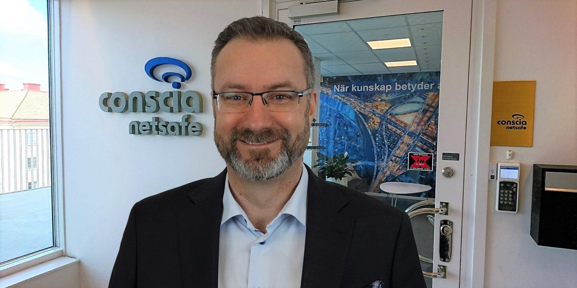 Daniel Björke ska utveckla leveransen hos Conscia Netsafe