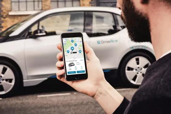 Kör bilen via mobilen: DriveNow introducerar Sveriges första digitala bildelningstjänst – inga nycklar eller kort – allt görs i din app