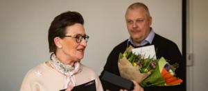 Patrik mottog utmärkelse för samarbete med Samhall