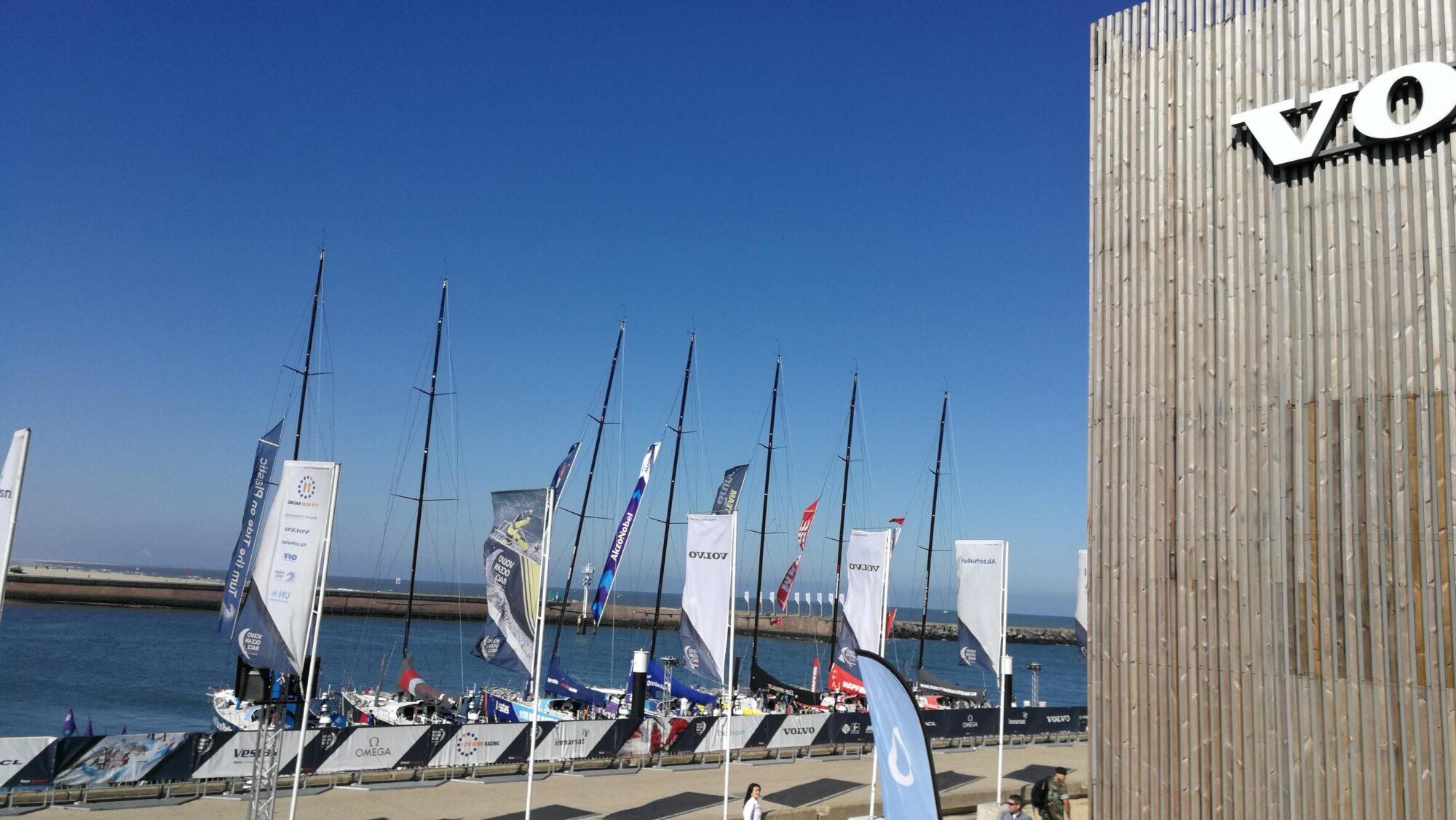 Höjd teknikribba i Volvo Ocean Race