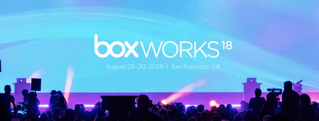 Box effektiviserar digitala arbetsplatser med molninnehållshantering under BoxWorks 2018