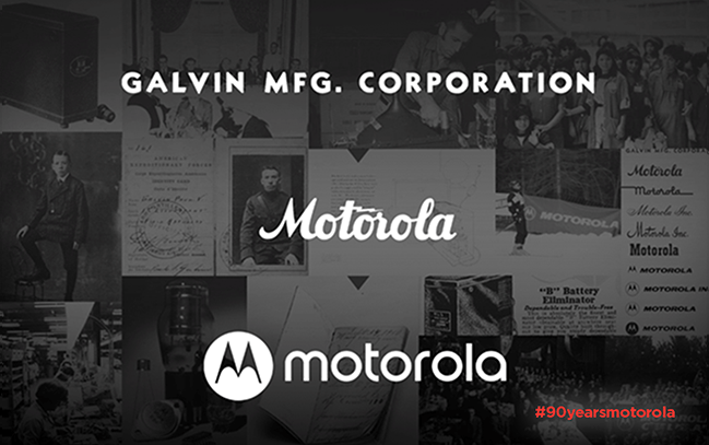 Motorola fyller 90 år!