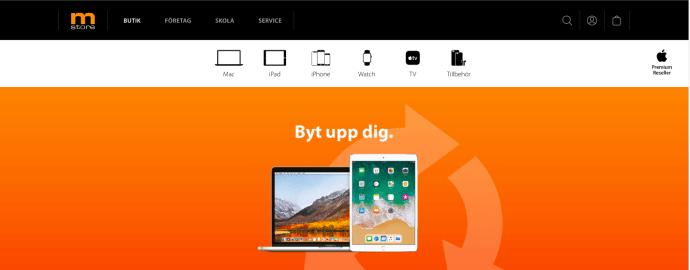 Sveriges största Apple-återförsäljare satsar på ny e-handel