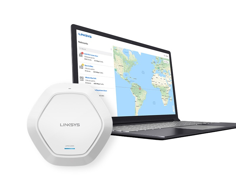 Linksys lanserar högpresterande nätverksplattform i molnet för små- och medelstora företag