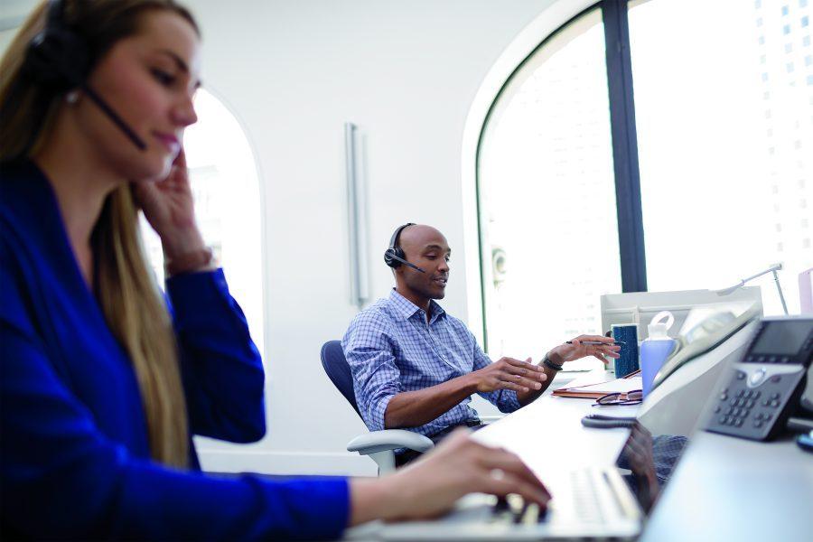 Headseten för det öppna kontorslandskapets utmaningar