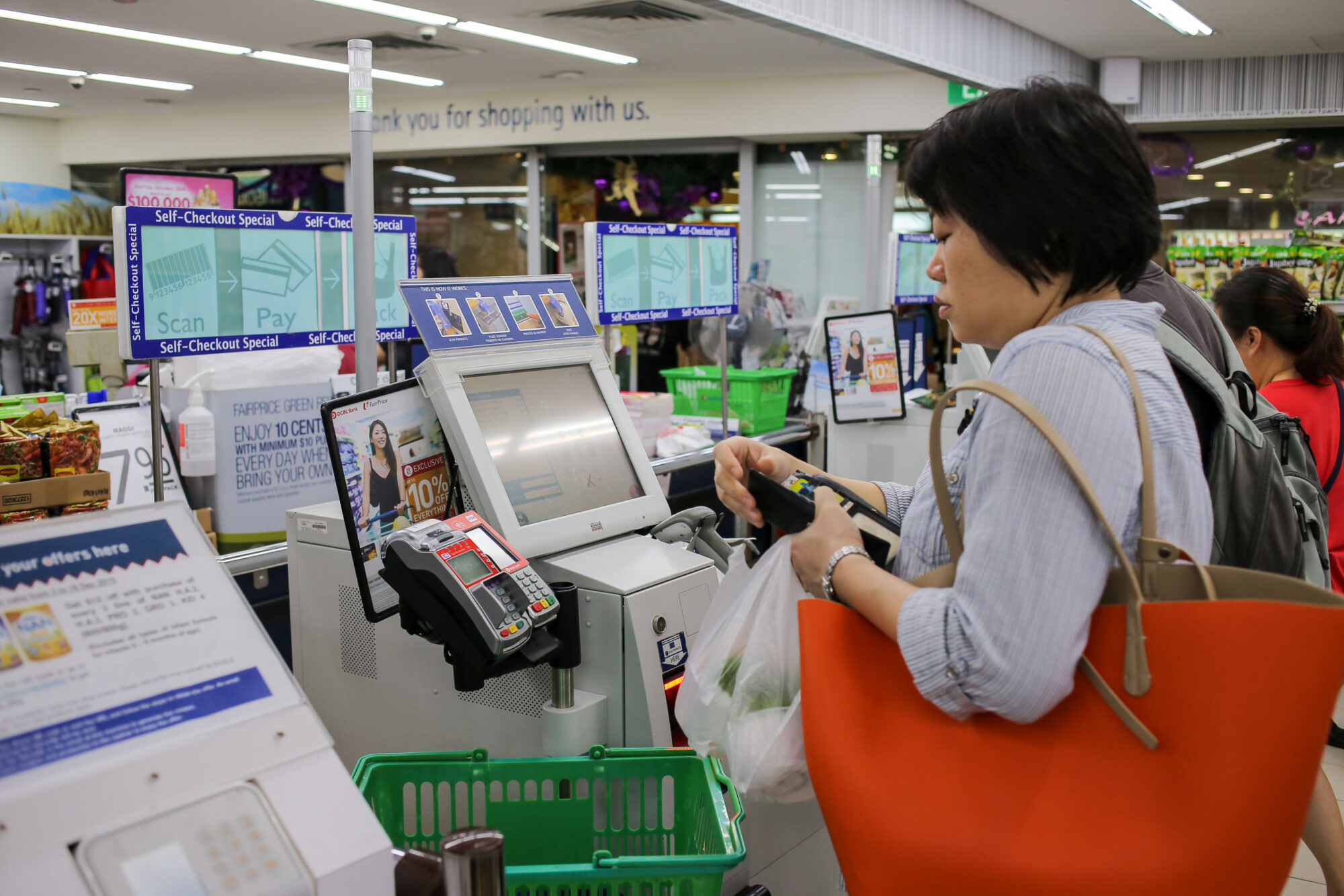 Fujitsus AI ska minska bedrägerier vid självbetjäningskassor