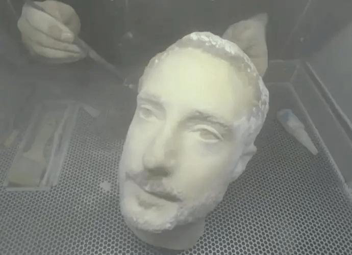 3D-printat huvud lurar våra mobilers ansiktsigenkänning