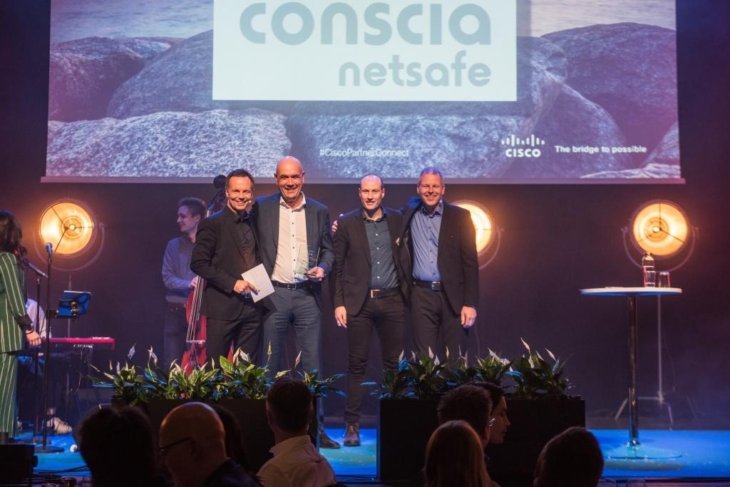 Conscia Netsafe Årets Cisco Customer Experience Partner