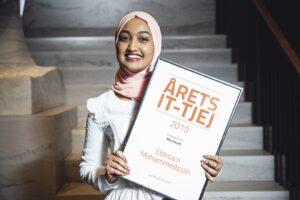 Ebtisam Mohammedsalih är Årets IT-tjej 2019
