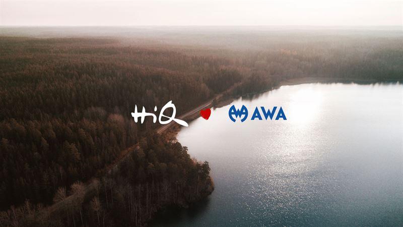 AWA fördjupar partnerskapet med HiQ
