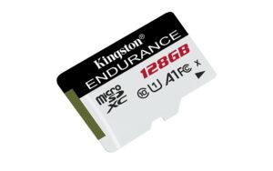 Kingston Digital introducerar nytt High Endurance microSD-kort 3