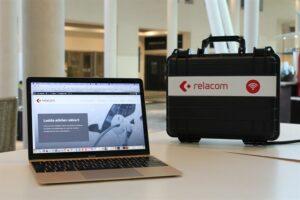 Relacom lanserar smart wifi i bärbar väska 3