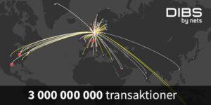 E-handeln växer så det knakar − tre miljarder transaktioner i Norden för DIBS 3