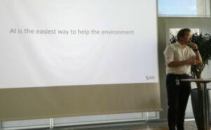 SAS Institute höll temadag om miljön 3