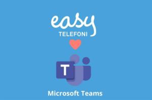 Molnbaserade växeln Easy Telefoni släpper full integration mot Microsoft Teams 3