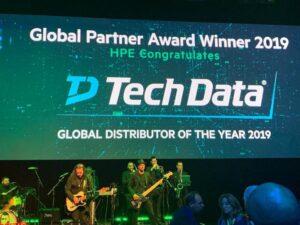 """Tech Data utsedd till """"2019 Global Distributor of the Year"""" av Hewlett Packard Enterprise 3"""