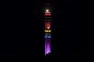Kaknästornet blir regnbågstornet under Stockholm Pride 3