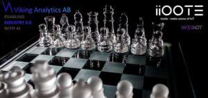 iioote och Viking Analytics ingår samarbete för att ta plattformen WebIoT till nästa dimension och inkludera artificiell intelligens 3