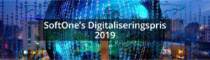 SoftOne lanserar Digitaliseringspris 2