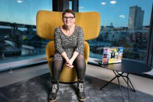 Internetstiftelsens säkerhetschef Anne-Marie Eklund Löwinder är Årets trygghetsambassadör 2
