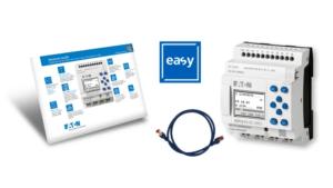 Eatons nya flerfunktionsrelä EasyE4 - kan integreras i IIoT 3