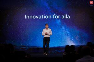 Xiaomi introducerar sin ledande teknik till den svenska mobiloperatörsmarknaden 3