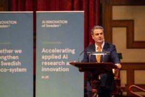 Sveriges nationella center för artificiell intelligens öppnar nod i Stockholm – nya partners och utökad finansiering aviseras 2
