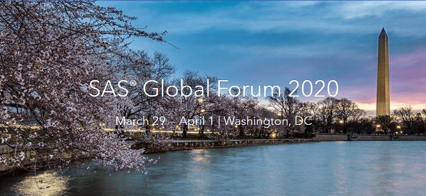 SAS GLOBAL FORUM 2020 1
