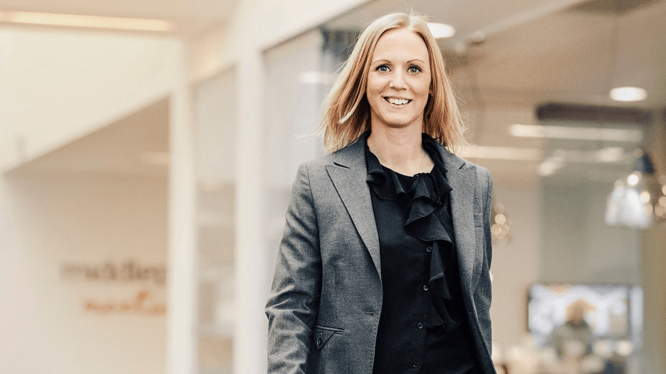 Lisa Eklöf som är HR-chef på Atea Sverige