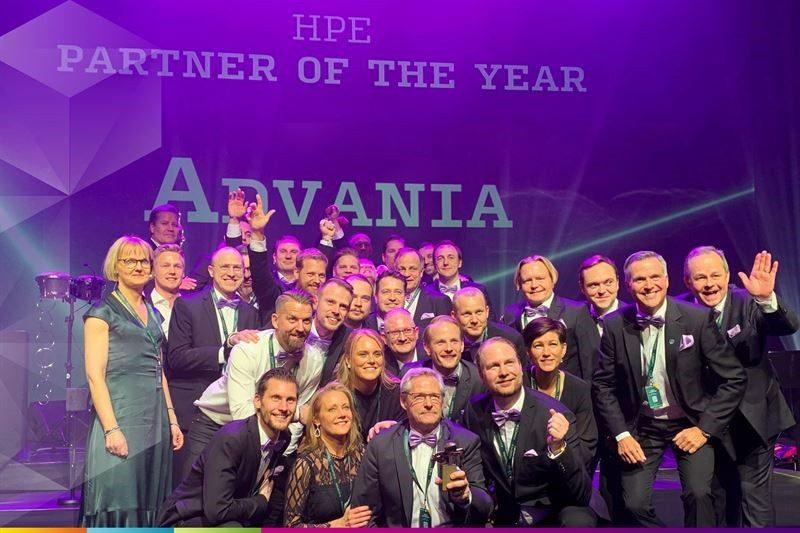 Vinnarna av Guldmyran 2020 i kategorin HPE Partner of the Year