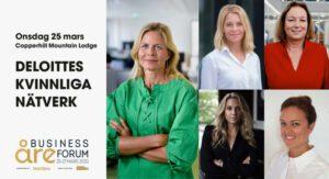 Förändring och berättande i fokus under Deloittes kvinnliga nätverk 25 mars 2