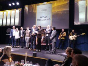 Boråsföretag vinnare av Gulddraken vid Huawei Nordic Partner Summit Horizon 3