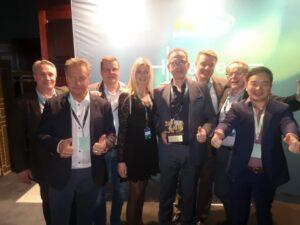 Gävleföretag vinnare av Gulddraken vid Huawei Nordic Partner Summit Horizon 2
