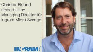 Ingram Micro utser ny Managing Director för Sverige 3