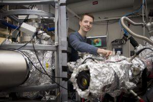 Svampliknande nanopartiklar av guld kan bli användbara i framtidens datorer 3