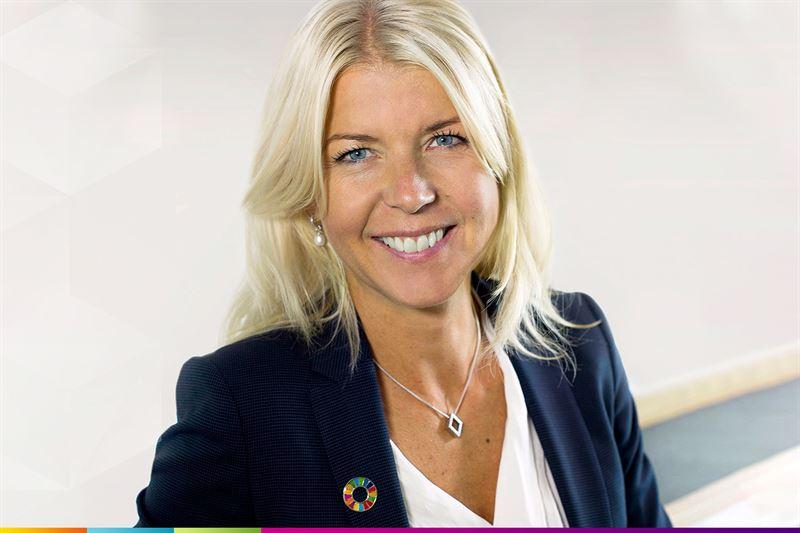 Ulrica Hedman, vd, Länsförsäkringar Uppsala