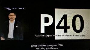 Nya Huawei P40-serien med kraftfullare kameror i kombination med Huawei AppGallery 3