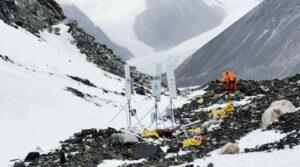 Huawei och China Mobile installerar 5G-nät på Mount Everest 3