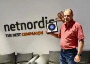 NetNordic tar emot utmärkelsen Nutanix Partner of the Year 2