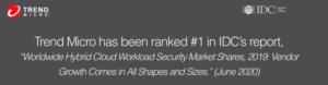 IDC rankar Trend Micro som världsledare inom Global Hybrid Cloud Security 3