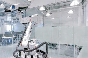 ABB:s nya robotcell för 3D-inspektion gör att kvalitetskontroller går tio gånger snabbare 3
