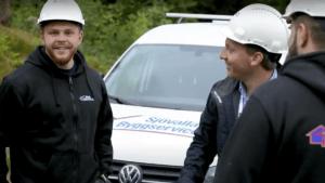 Nyckelfria lösningar underlättar arbetsdagarna för Sjövalla Byggservice AB 2