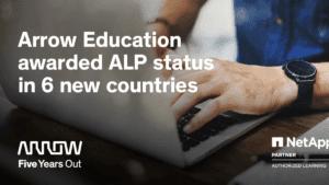 Arrow Electronics utökar utbildningserbjudandet för NetApp med certifieringar inom cloud, data och konvergerad infrastruktur 3