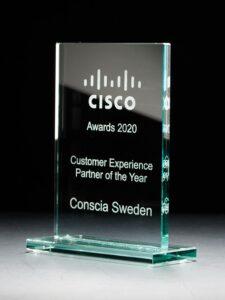 Conscia Sverige utsett till Cisco Customer Experience Partner of the Year för andra året i rad 4