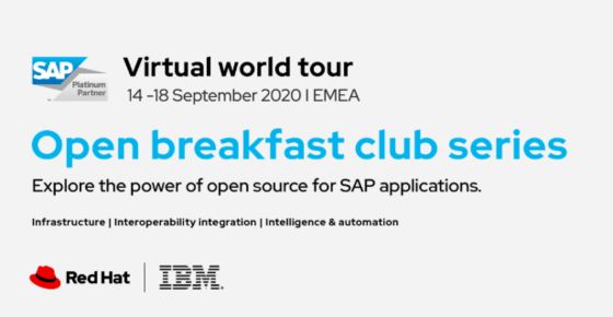 Open Breakfast Club powered by IBM, Red Hat and SAP 1