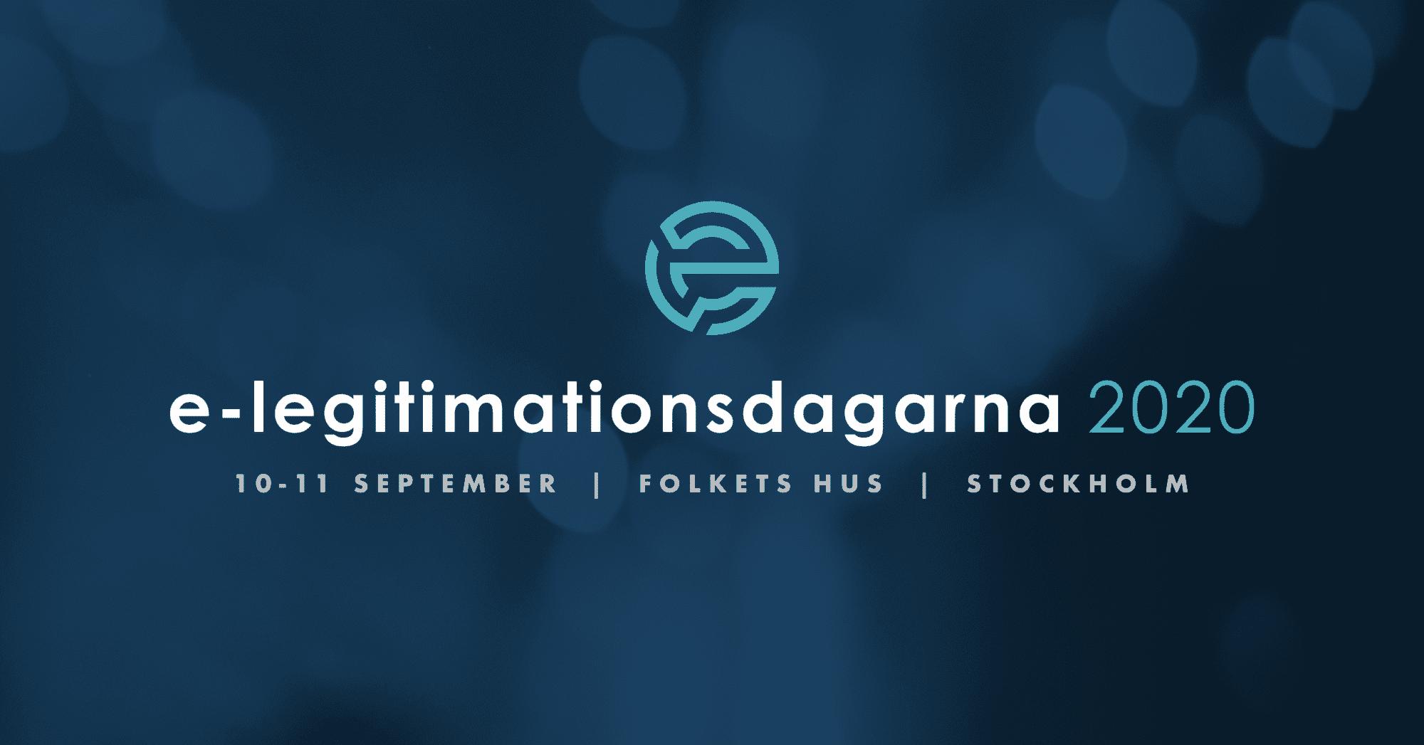 e-legitimationsdagarna 2020 på FOLKETS HUS - STOCKHOLM 2