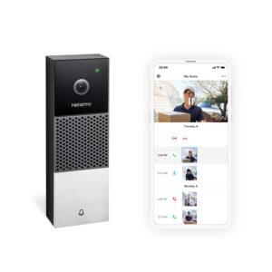 Netatmos Smarta Videodörrklocka finns tillgänglig i Sverige 3
